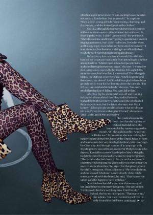 Kendall Jenner: Teen Vogue 2014-01
