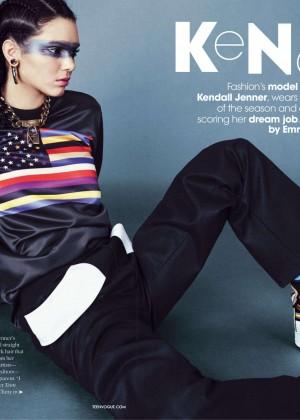 Kendall Jenner: Teen Vogue 2014-08
