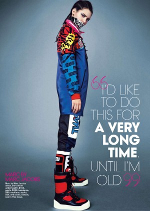 Kendall Jenner: Teen Vogue 2014-09