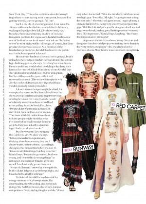 Kendall Jenner - Teen Vogue (September 2014) adds