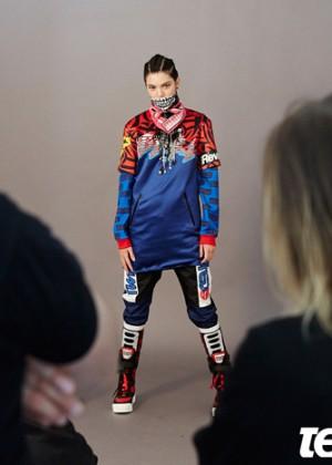 Kendall Jenner: Teen Vogue 2014-18
