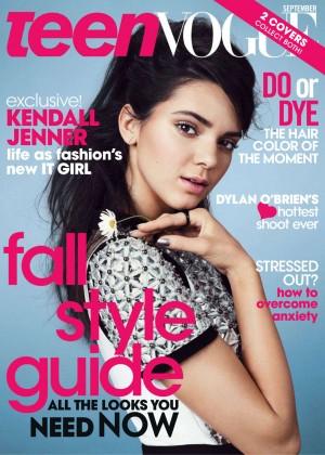 Kendall Jenner: Teen Vogue 2014-19