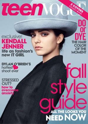 Kendall Jenner: Teen Vogue 2014-21