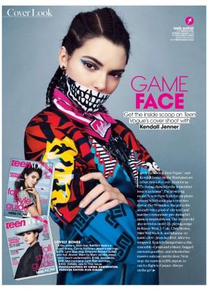 Kendall Jenner: Teen Vogue 2014-25