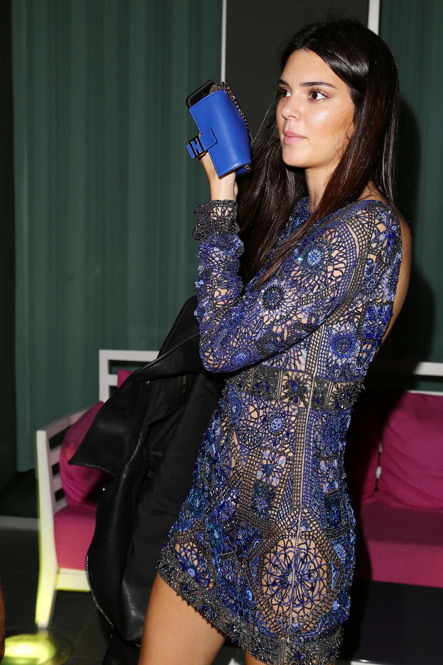 Kendall Jenner Vogue Italia 50th Anniversary At Piazza