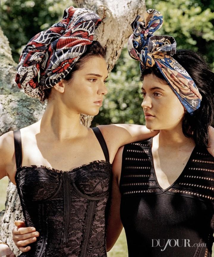 Kendall & Kylie Jenner - DuJour Magazine Fall 2014
