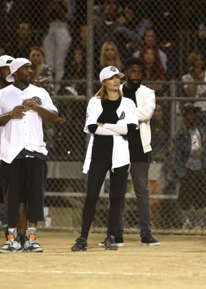 Kendall and Kylie Jenner - KickN It For Charity Celebrity Kick Ball Game -18