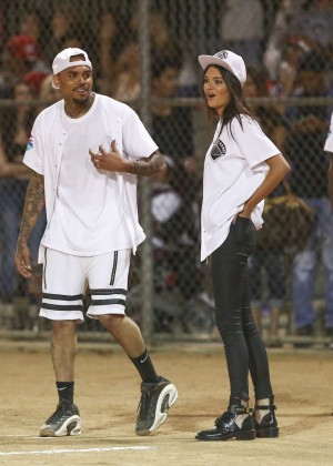 Kendall and Kylie Jenner - KickN It For Charity Celebrity Kick Ball Game -22