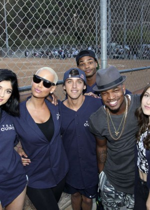 Kendall and Kylie Jenner - KickN It For Charity Celebrity Kick Ball Game -33