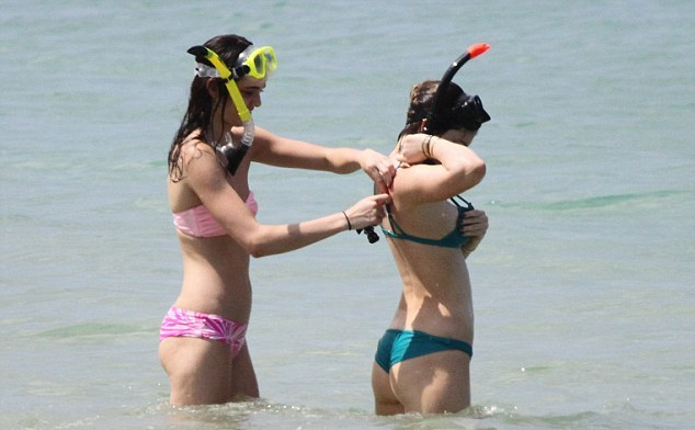 Kendall and Kylie Jenner Bikini Photos: 2014 in Thailand -09