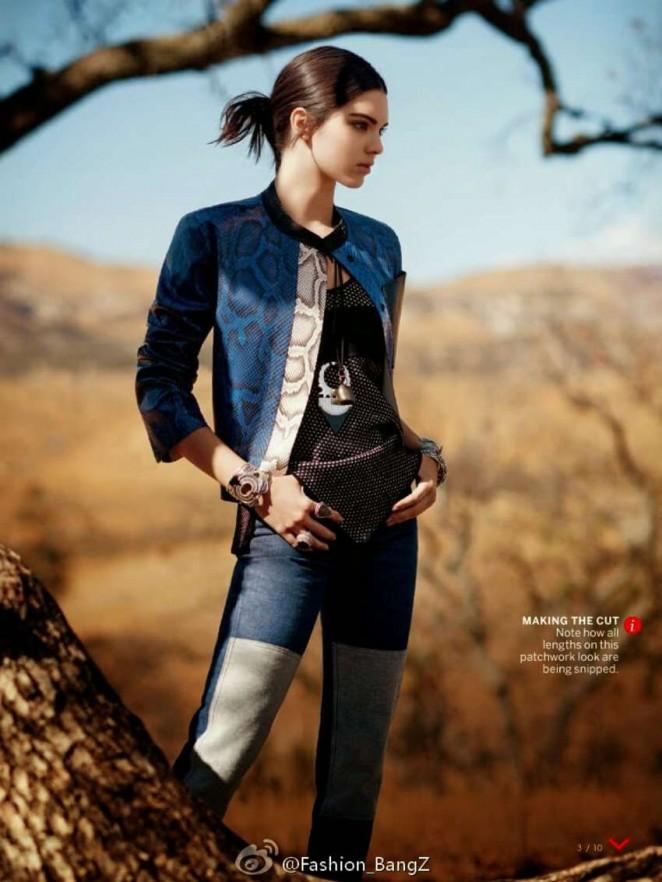 Kender Jenner - Vogue US Magazine (January 2015)