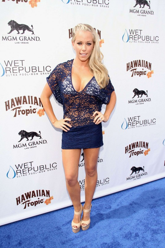 Kendra Wilkinson – Party at The Pool-08