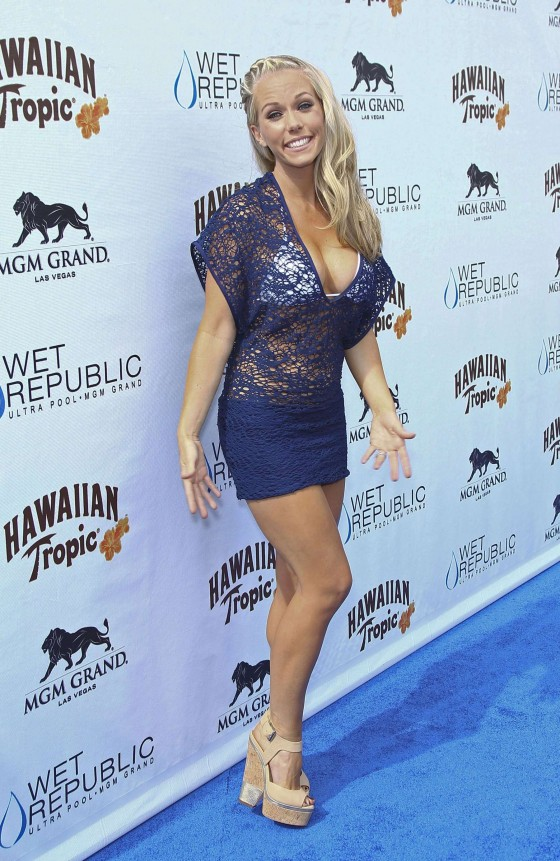 Kendra Wilkinson – Party at The Pool-28