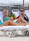 Kendra Wilkinson - Bikini Candids in Miami -13
