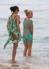 Kendra Wilkinson - Bikini Candids in Miami -19