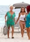 Kendra Wilkinson - Bikini Candids in Miami -25