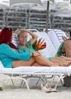 Kendra Wilkinson - Bikini Candids in Miami -28