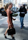 Kendra Wilkinson outside her hotel in NYC -07