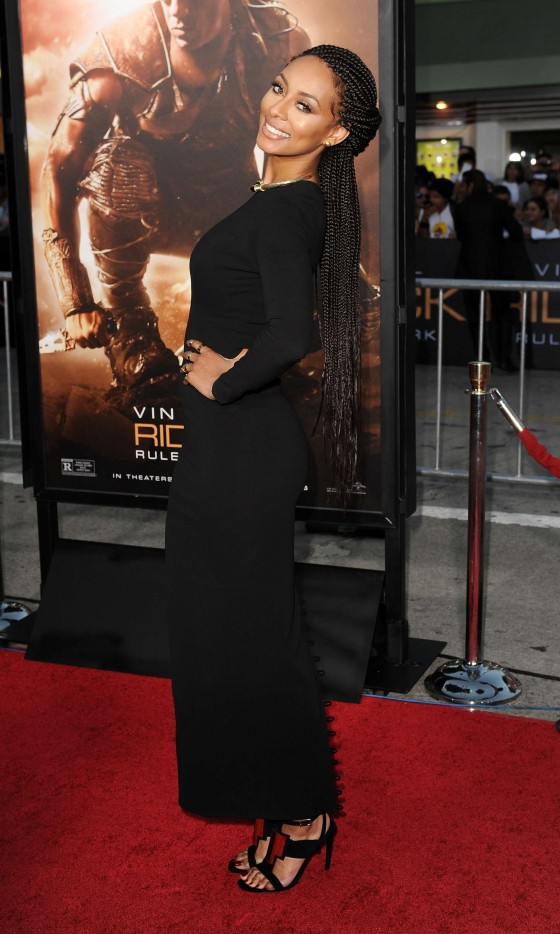 Keri Hilson at Riddick: Rule The Dark premiere -05