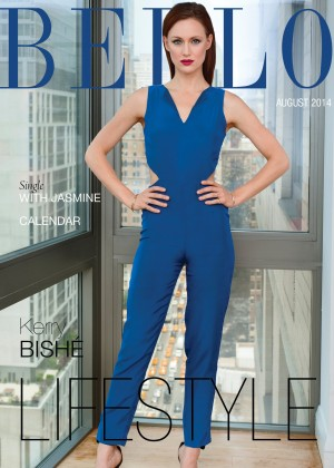 Kerry Bishe - BELLO Magazine Cover (August 2014)