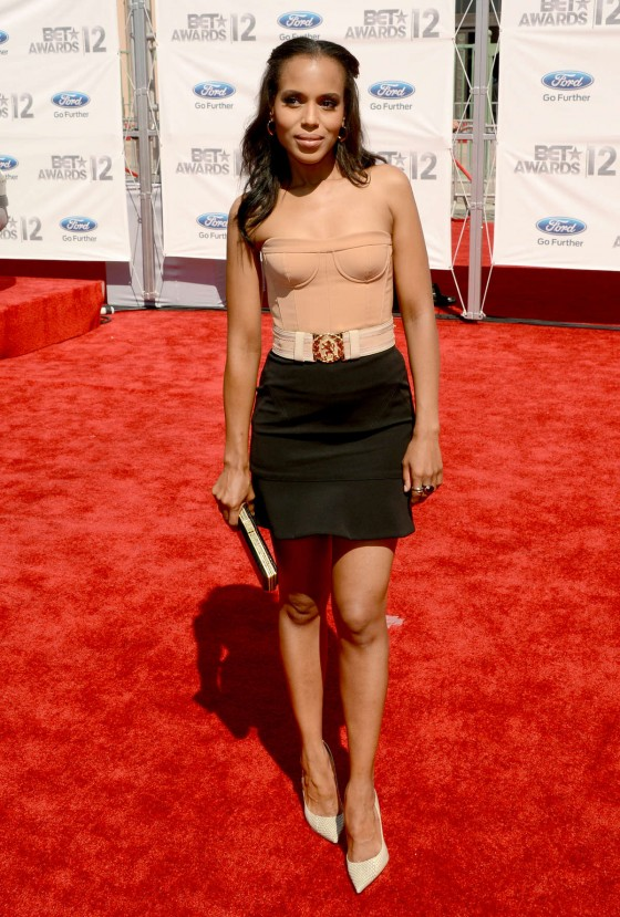 Kerry Washington - Looking cute at 2012 BET Awards in Los Angeles