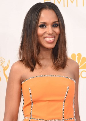 Kerry Washington - 66th annual Primetime Emmy Awards in LA