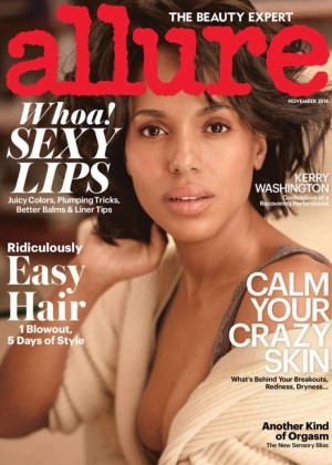 Kerry Washington - Allure Magazine Cover (November 2014)