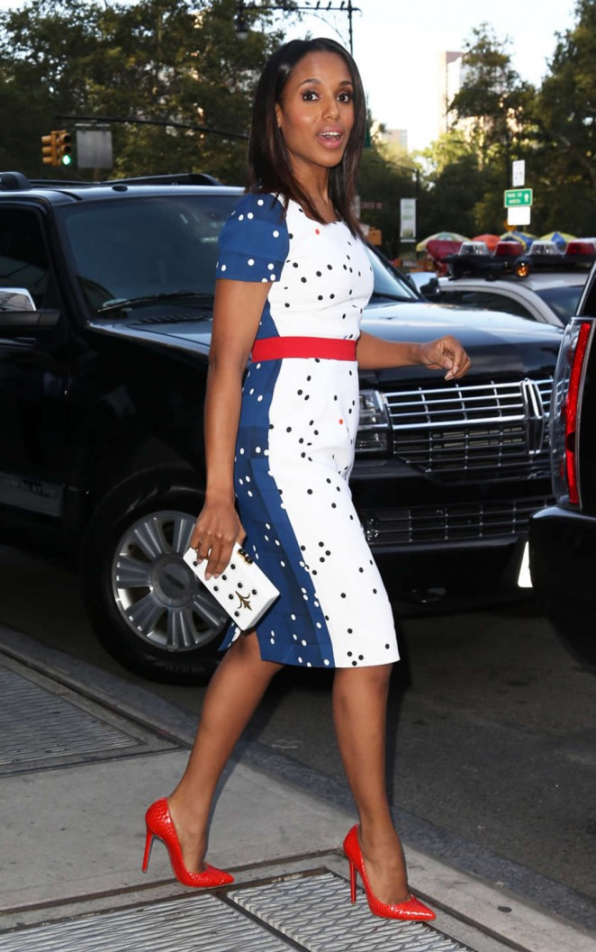 Kerry Washington out and about in New York