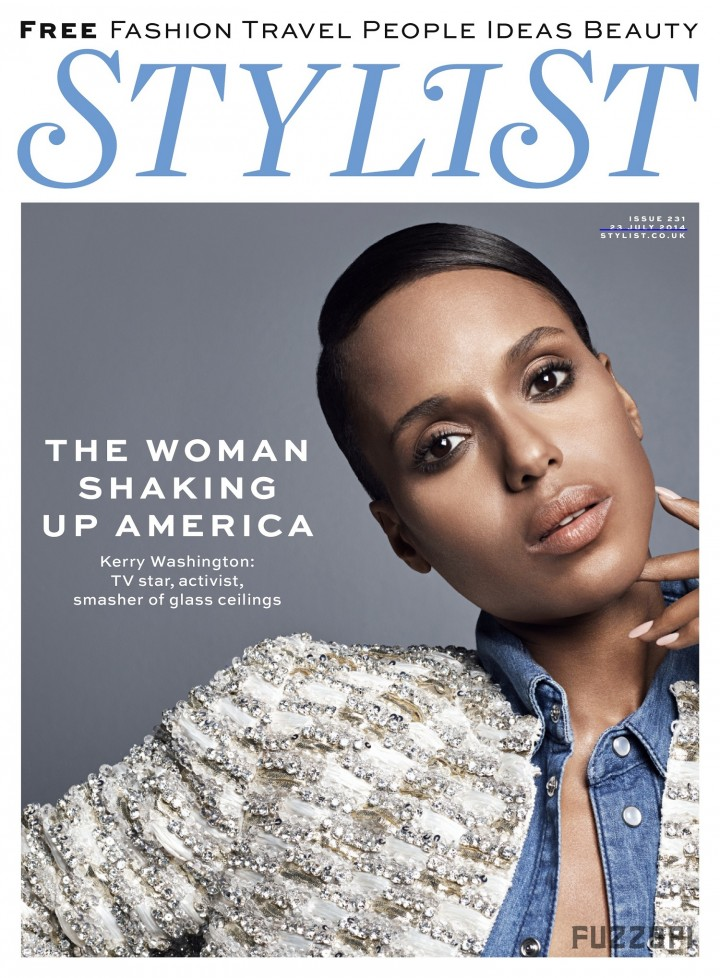 Kerry Washington - Stylist UK Magazine (July 2014)