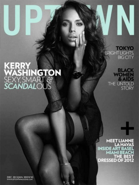 Kerry Washington - Uptown Magazine Dec 2012/Jan 2013