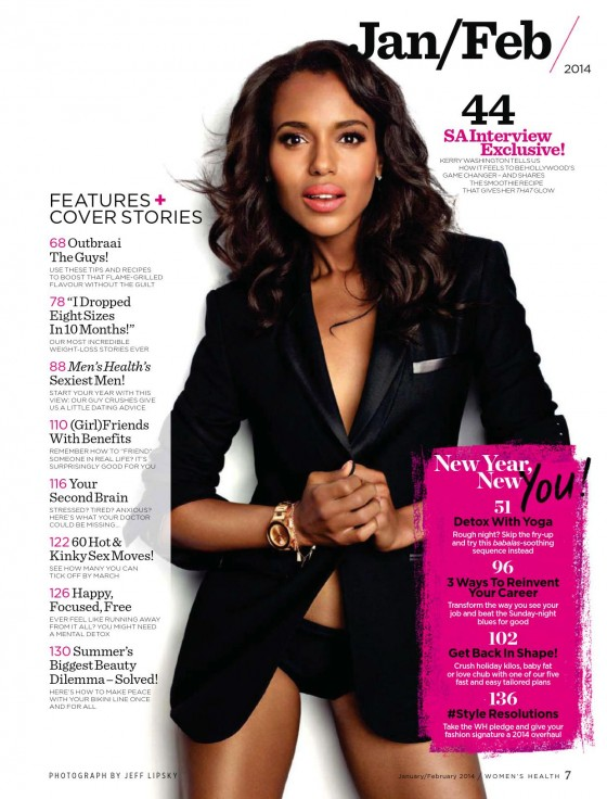 Kerry Washington: Womens Health South Africa -04