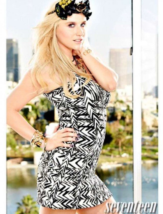 Kesha     Seventeen Magazine  Febuary 2013 Kesha 2013 Photoshoot