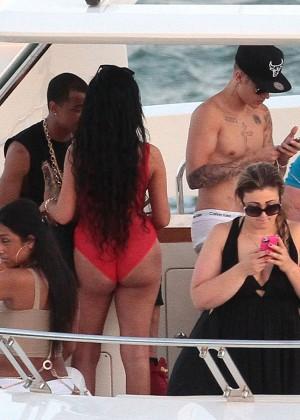 Khalil Sharieff bikini photos: on Yacht-05