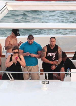 Khalil Sharieff bikini photos: on Yacht-09