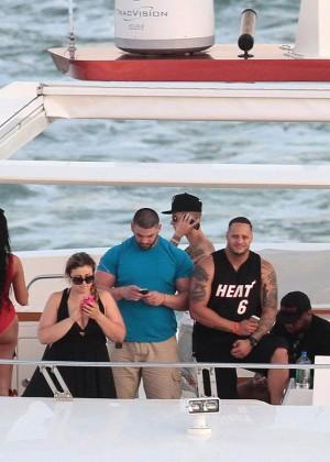 Khalil Sharieff bikini photos: on Yacht-19