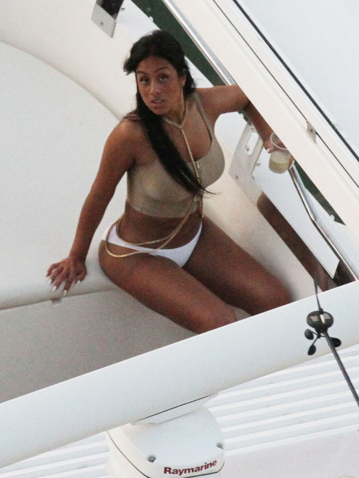 Khalil Sharieff bikini photos: on Yacht-22