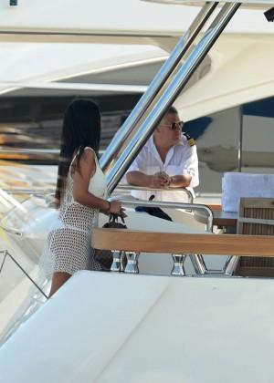 Khalil Sharieff bikini photos: on Yacht-25