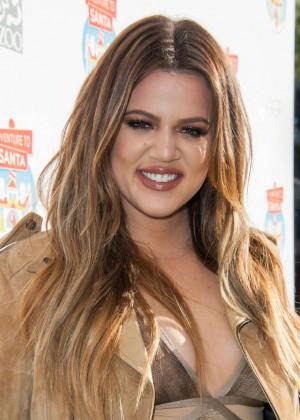 Khloe Kardashian - Adventure to Santa Event in Glendale
