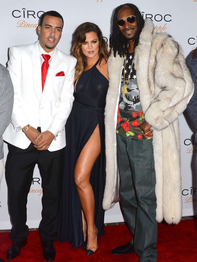 Khloe Kardashian at French Montana Birthday Party in Bel Air