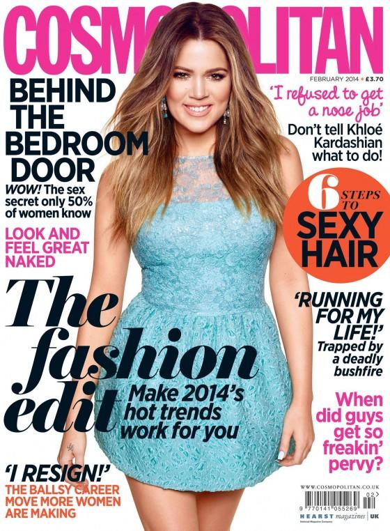 Khloe Kardashian: Cosmopolitan Cover (UK 2014) -01