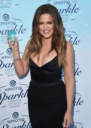 Khloe Kardashian - HPNOTIQ Sparkle Launch in Beverly Hills