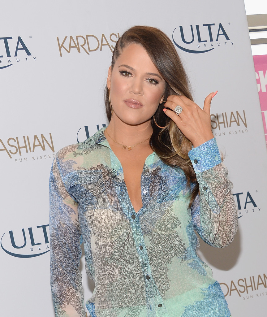 Khloe Kardashian 2013 : Khloe Kardashian – Kardashian Beauty Launch at ULTA in Burbank -01