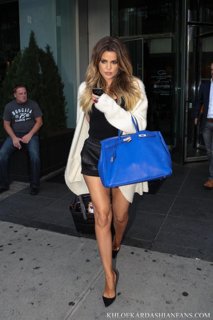 Khloe Kardashian – Leaving Her Hotel In NYC