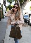 Khloe Kardashian shopping candids at Kitson in Beverly Hills -03