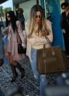 Khloe Kardashian shopping candids at Kitson in Beverly Hills -06