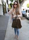 Khloe Kardashian shopping candids at Kitson in Beverly Hills -10