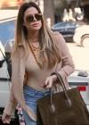 Khloe Kardashian shopping candids at Kitson in Beverly Hills -19