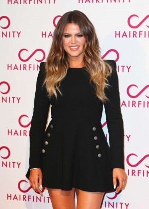 Khloe Kardashian - Hairfinity Hair Vitamins Launch Party in London