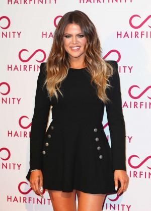 Khloe Kardashian - Hairfinity Hair Vitamins Launch Party in London