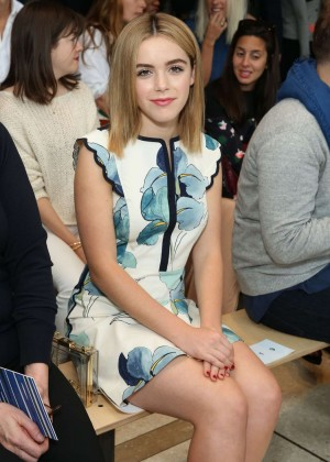 Kiernan Shipka - Tory Burch Fashion Show in New York City